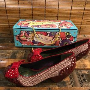 Poetic License red heels.